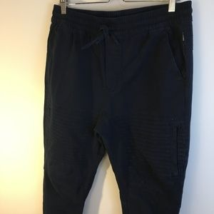 Ring of Fire Large Navy Moto Joggers